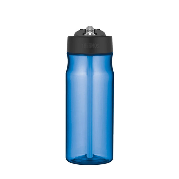 Thermos Intak Straw Bottle - 530ml, Blue - Thermo Hero