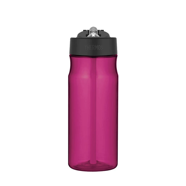 Thermos Intak Straw Bottle - 530ml, Magenta - Thermo Hero