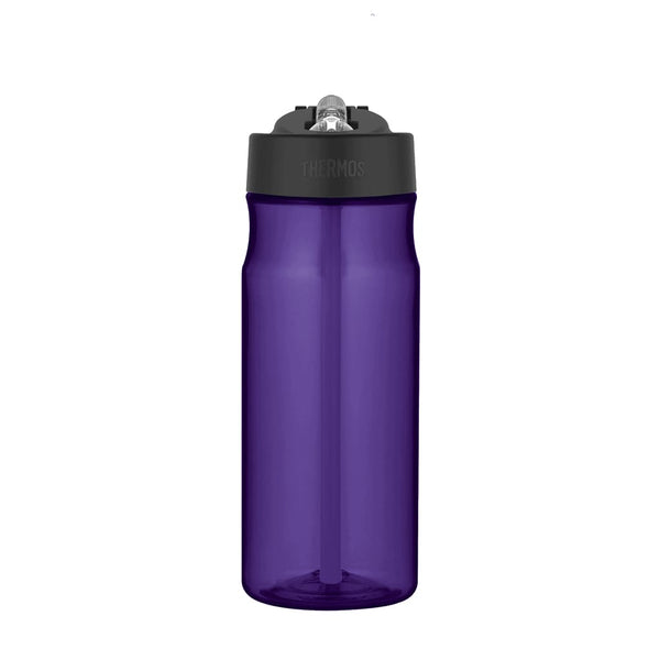 Thermos Intak Straw Bottle - 530ml, Deep Purple - Thermo Hero