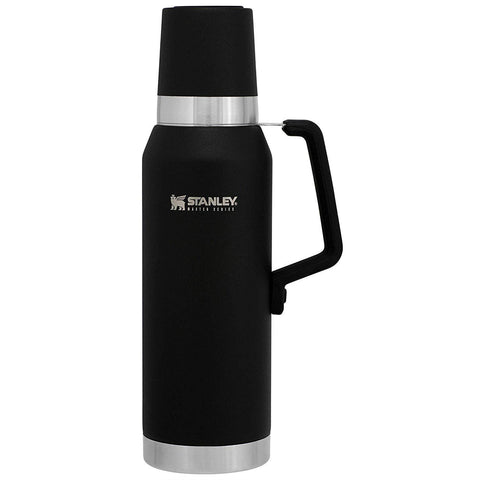 Stanley The Unbreakable Vacuum Bottle 1.3L  Foundry Black - Thermo Hero