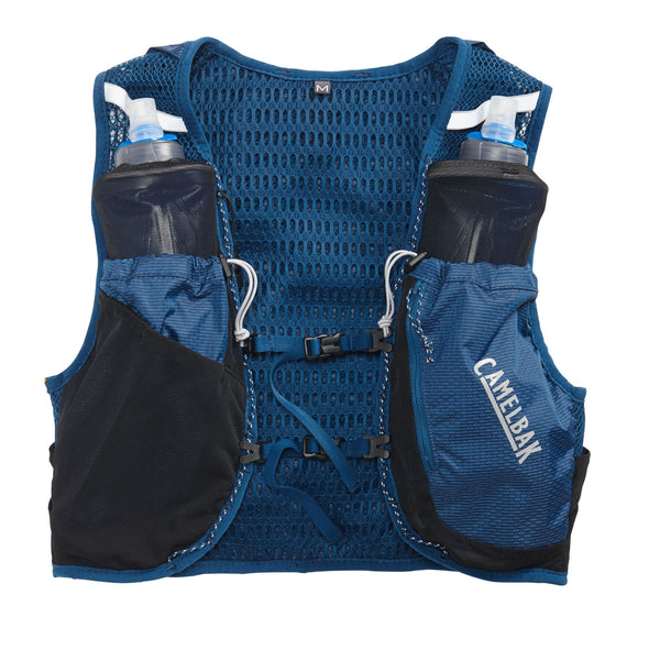 Camelbak Women's Ultra Pro Vest XSmall (2 x 500ml) Gibraltar Navy / Silver - Thermo Hero