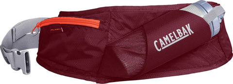 Camelbak Flash Belt (1x 500ml  Peak Fitness Chill) Burgundy / Hot Coral - Thermo Hero