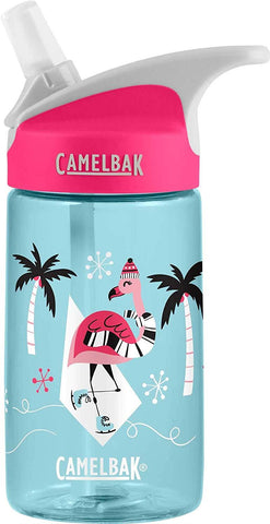Camelbak eddy .4L Kids Flamingos on Ice Holiday LE - Thermo Hero