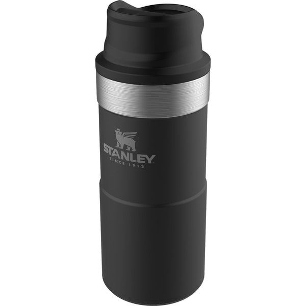 Stanley Classic Trigger-Action Travel Mug .35L Matte Black - Thermo Hero