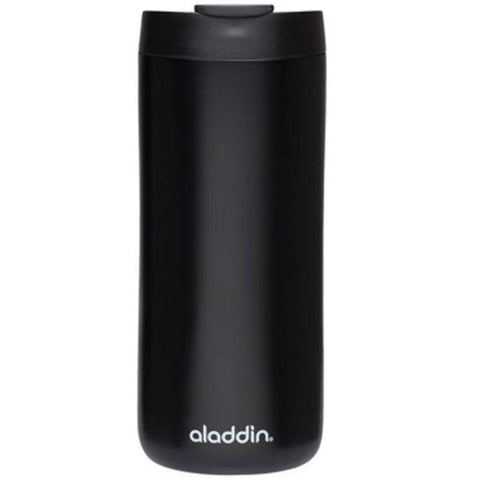 Aladdin Stainless Steel Vacuum Mug 0.35L Matt Black - Thermo Hero