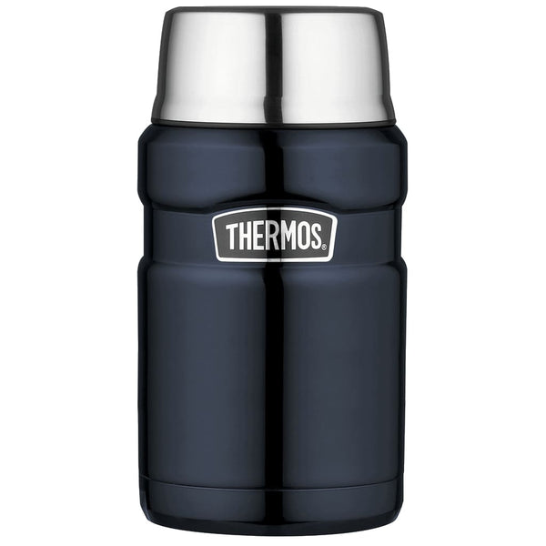 Thermos King Food Flask - 710ml, Midnight Blue - Thermo Hero