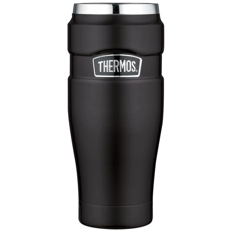 Thermos King Tumbler - 470ml, Matt Black - Thermo Hero