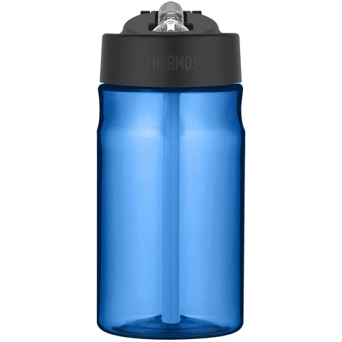 Thermos Intak Straw Bottle - 355ml, Blue - Thermo Hero