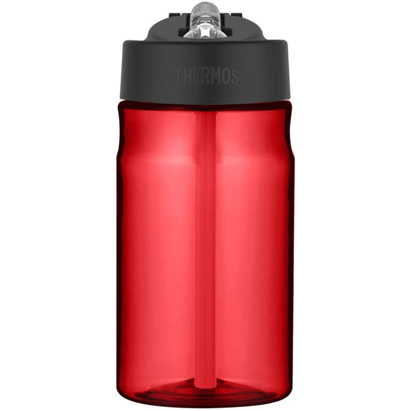 Thermos Intak Straw Bottle - 355ml, Red - Thermo Hero