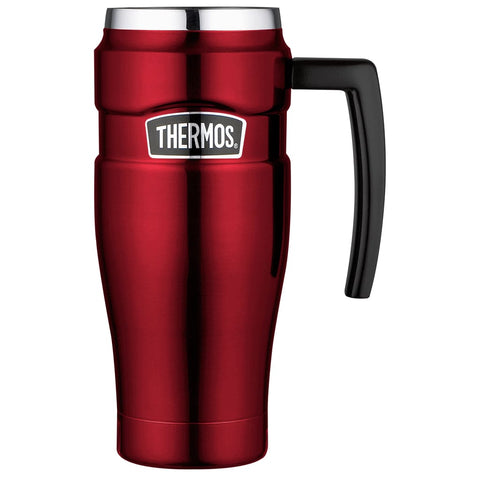 Thermos King Travel Mug - 470ml, Red - Thermo Hero