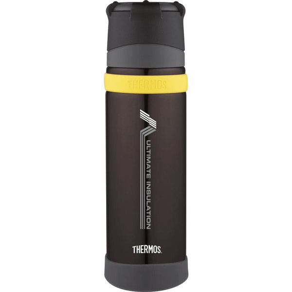 Thermos Stainless Steel Ultimate Flask MKII - 500ml, Charcoal - Thermo Hero