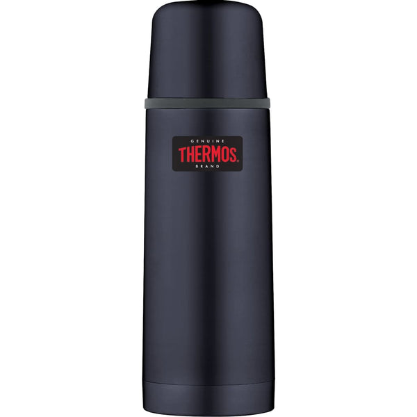 Thermos Light and Compact Flask - 350ml, Midnight Blue - Thermo Hero