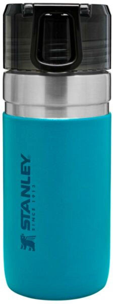 Stanley GO Vacuum Insulated Water Bottle 0.47L Lake Blue - Thermo Hero