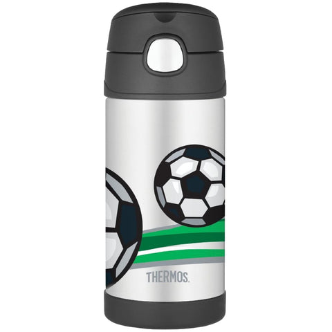 Thermos FUNtainer Bottle - 355ml, Football - Thermo Hero