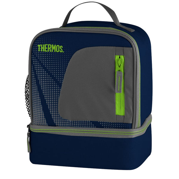 Thermos Radiance Dual Lunch Kit, Navy - Thermo Hero
