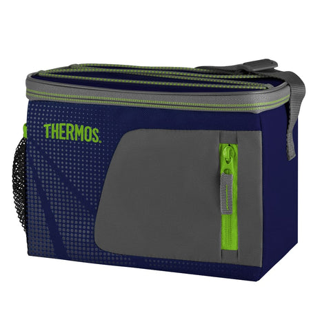 Thermos Radiance Cooler - 6 Can, Navy - Thermo Hero
