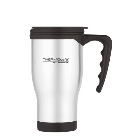 ThermoCafe 2060 Travel Mug - 400ml, Stainless Steel - Thermo Hero