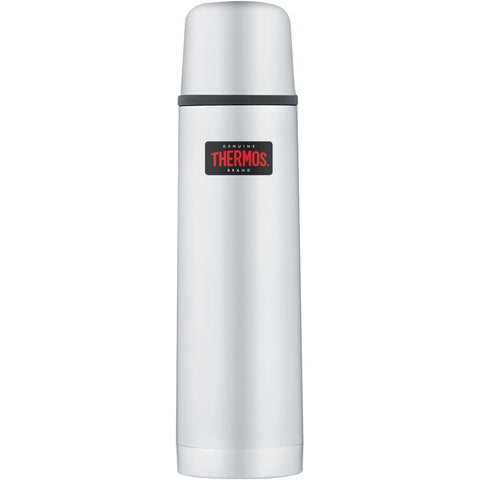 Thermos Light and Compact Flask - 500ml, Stainless Steel - Thermo Hero