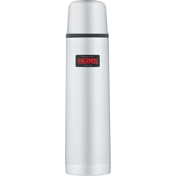 Thermos Light and Compact Flask - 1.0L, Stainless Steel - Thermo Hero