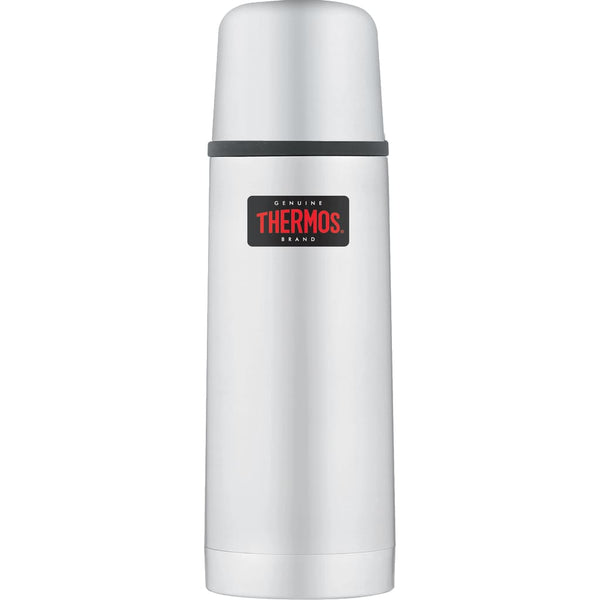 Thermos Light and Compact Flask - 350ml, Stainless Steel - Thermo Hero