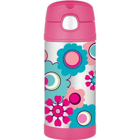 Thermos FUNtainer Bottle - 355ml, Floral - Thermo Hero