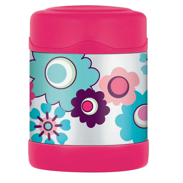Thermos FUNtainer Food Flask - 290ml, Floral - Thermo Hero