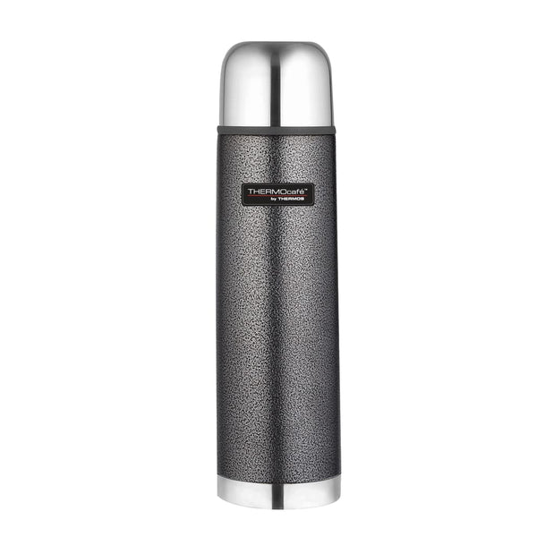 ThermoCafe Bullet Flask - 1.0L, Hammertone Grey - Thermo Hero