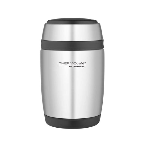 ThermoCafe Barrel Food Flask - 400ml, Stainless Steel - Thermo Hero