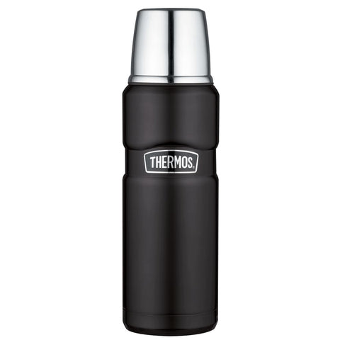 Thermos King Flask - 470ml, Matt Black - Thermo Hero