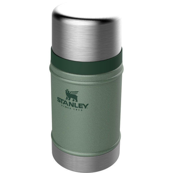 Stanley Classic Vacuum Food Jar .70L Hammertone Green - Thermo Hero