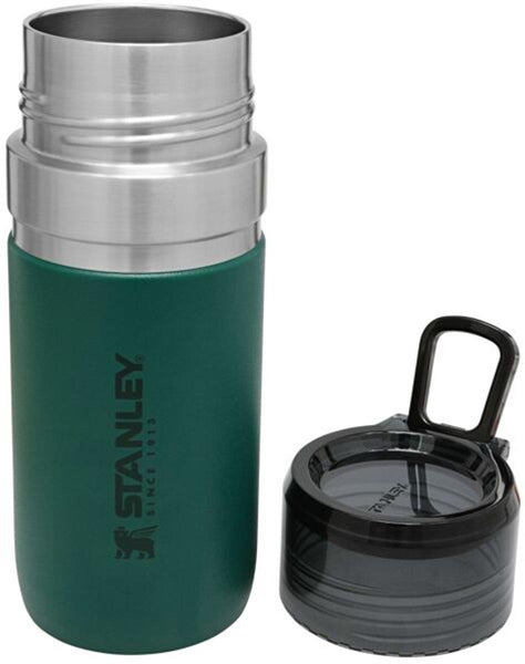 Stanley GO Vacuum Insulated Water Bottle 0.47L Moss Green - Thermo Hero