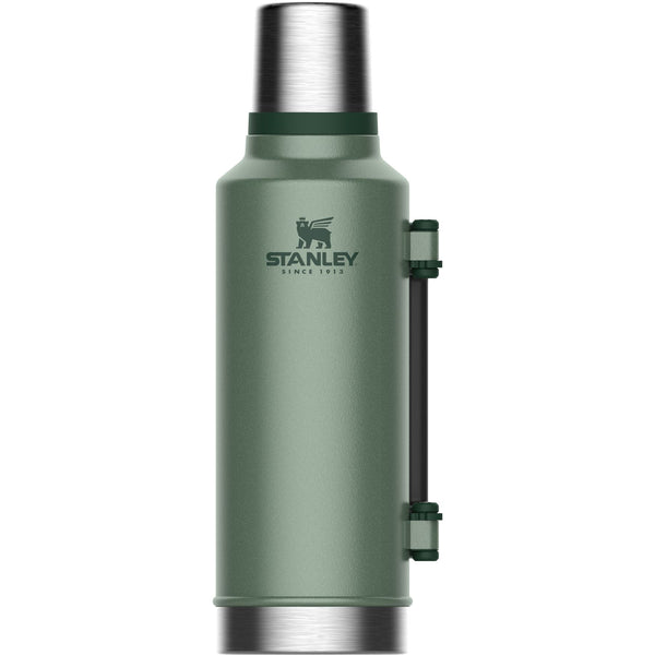 Stanley Classic Vacuum Bottle 1.9L Hammertone Green - Thermo Hero