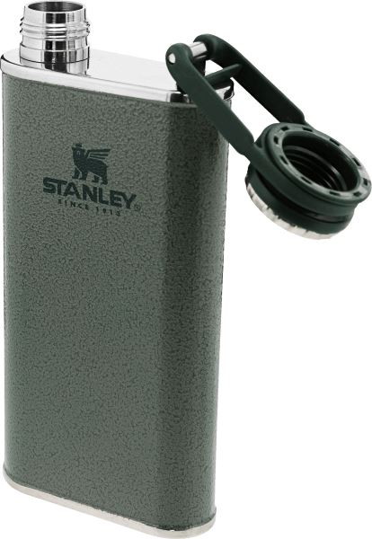 Stanley Classic Easy-Fill Wide Mouth Flask .23L Hammertone Green - Thermo Hero