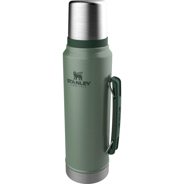 Stanley Classic Vacuum Bottle 1.0L Hammertone Green - Thermo Hero