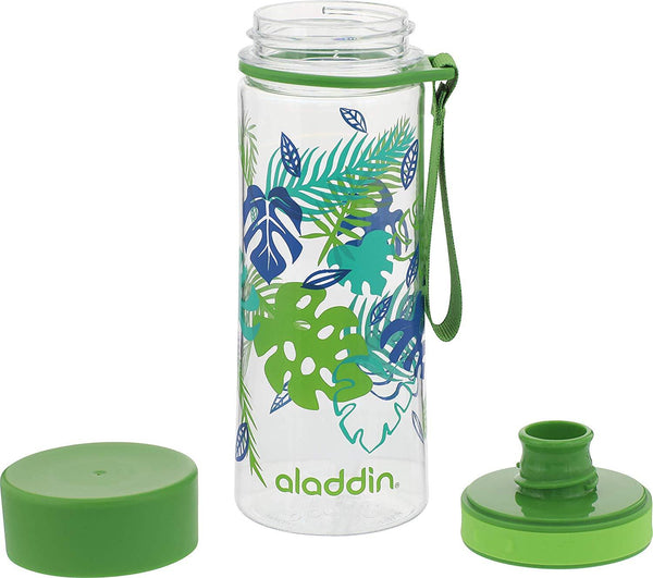 Aladdin Aveo Water Bottle 0.35L Green (Graphics) - Thermo Hero
