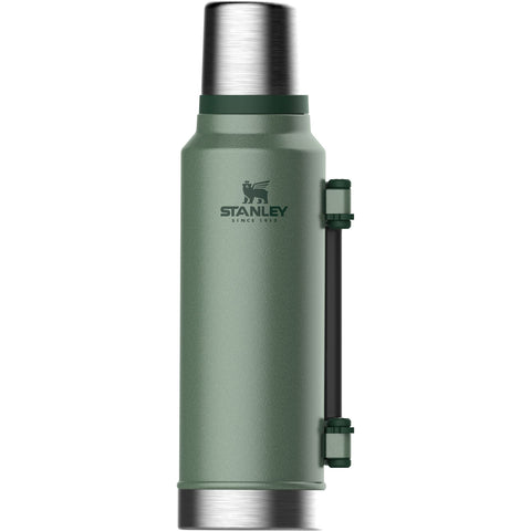 Stanley Classic Vacuum Bottle 1.4L Hammertone Green - Thermo Hero