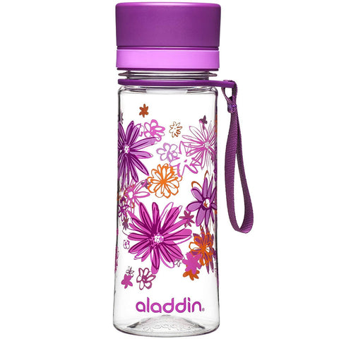 Aladdin Aveo Water Bottle 0.35L Purple (Graphics) - Thermo Hero