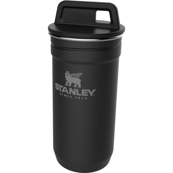 Stanley Adventure Stainless Steel Shot Glass Set Matte Black - Thermo Hero