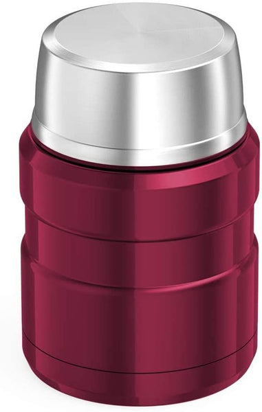 Thermos Stainless King Food Flask 470ml Raspberry