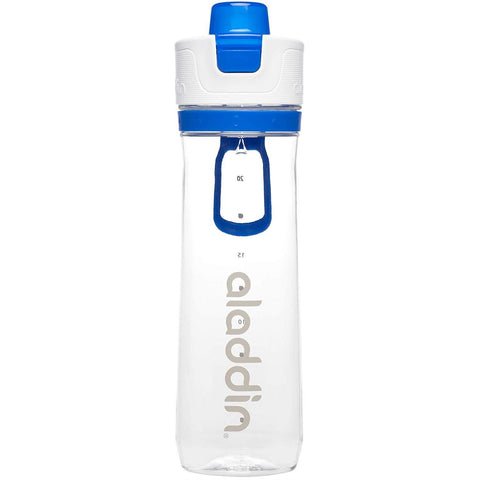 Aladdin Active Hydration Water Bottle 0.8L Blue - Thermo Hero