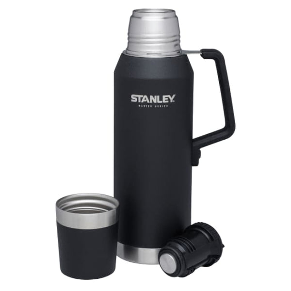 Stanley MASTER Vacuum Bottle - 1.3L, Black - Thermo Hero