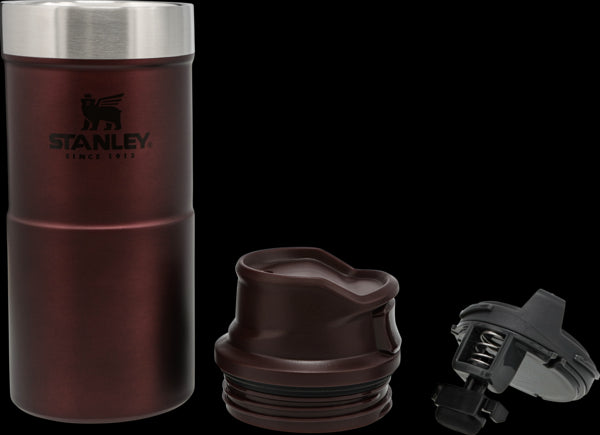 Stanley Classic Trigger-Action Travel Mug 0.35L Wine - Thermo Hero