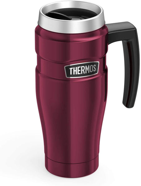 Thermos Stainless King Travel Mug Raspberry 470ml