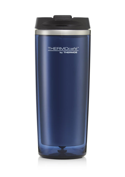 Thermos Thermocafe Flip Lid Travel Tumbler Midnight Blue 350ml