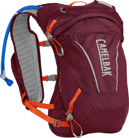 Camelbak Women's Octane 9 (2L Reservoir) Burgundy / Hot Coral