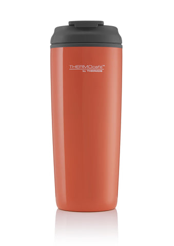 Thermos Coastal Flip Top Traveller Tumbler Living Coral 450ml - Thermo Hero