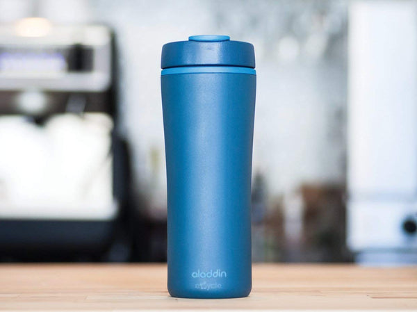 Aladdin Recycled & Recyclable Mug - 0.35L, Blue - Thermo Hero