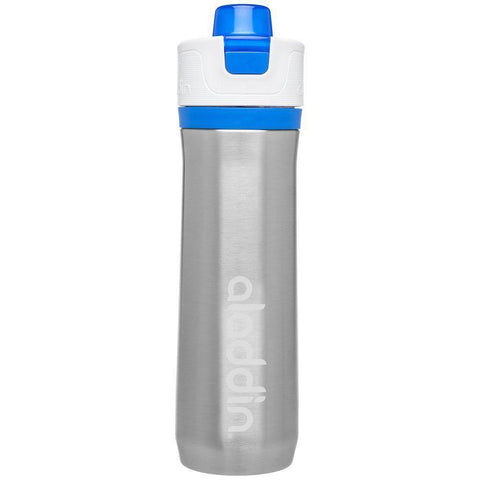 Aladdin Active Hydration Stainless Steel Vacuum Insulated Water Bottle 0.6L Blue - Thermo Hero