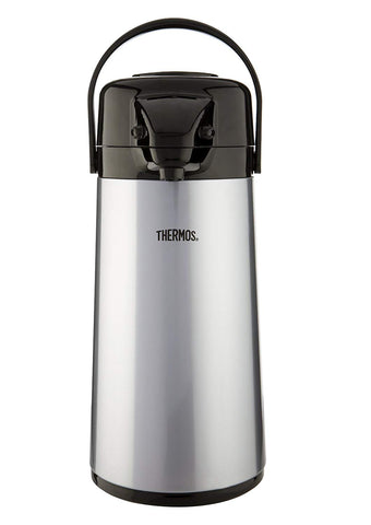 Thermos Stainless Steel 1.9L GTB Push Button Pump Pot - Thermo Hero