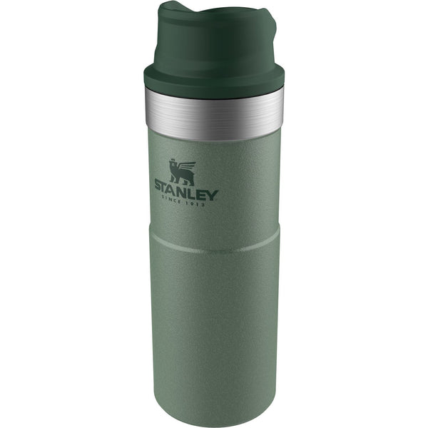 Stanley Classic Trigger-Action Travel Mug .47L Hammertone Green - Thermo Hero